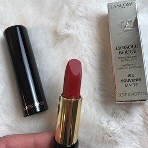 Lancôme sheer lipstick (shade: 193 souvenir)